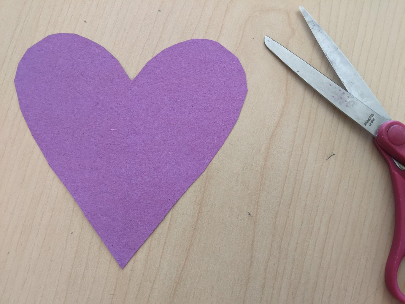 Cut Out Your First Heart.