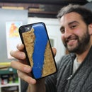 Resin and Wood Phone Case