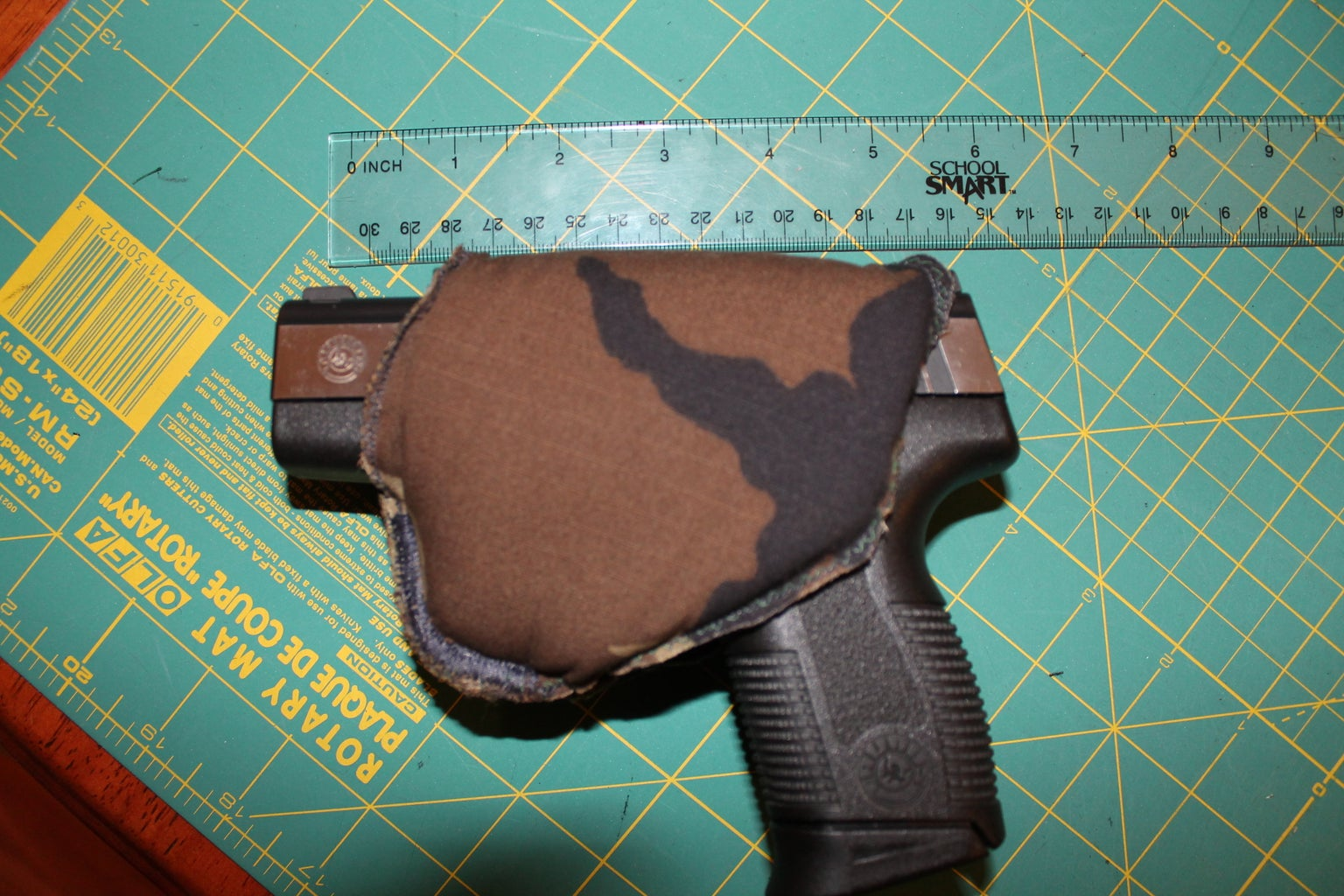 I Looked at a Beer Koozie and Saw an Oprotunity to Make a Handgun Koozie.........I Know, I Am Strange .