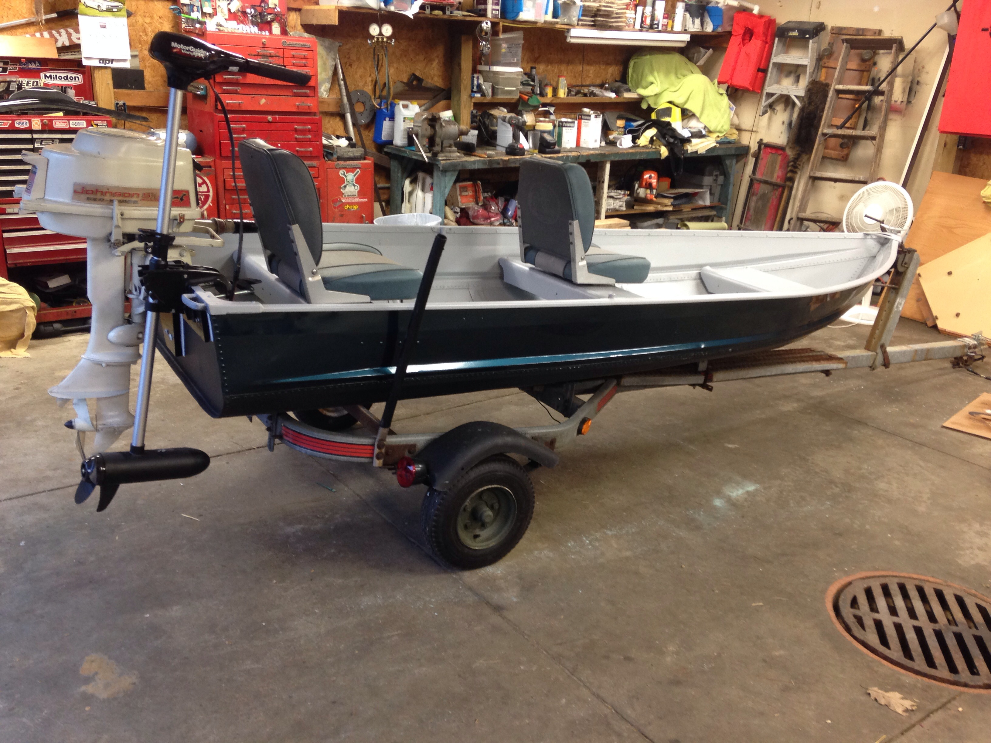 Jon Boat To Bass Boat Mod