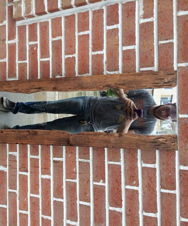 Live Edge Wooden Mirror