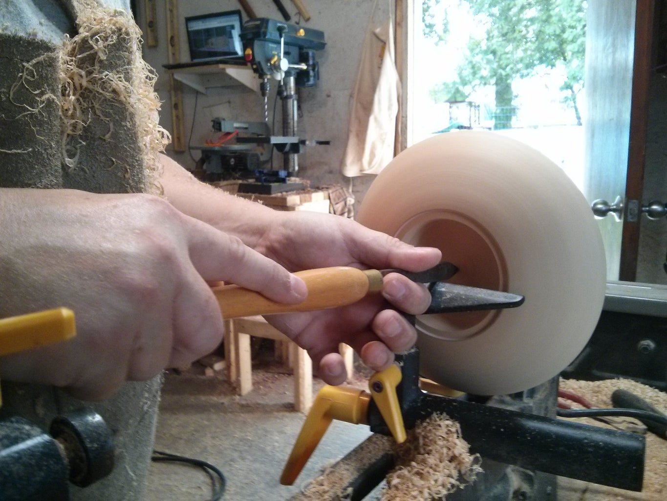 Creating the Saucer Halves