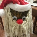 Tree Stump Santa