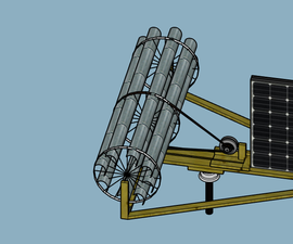 Wind/solar Power Mill