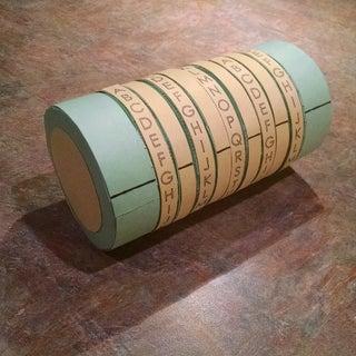Cardboard Cryptex Vault