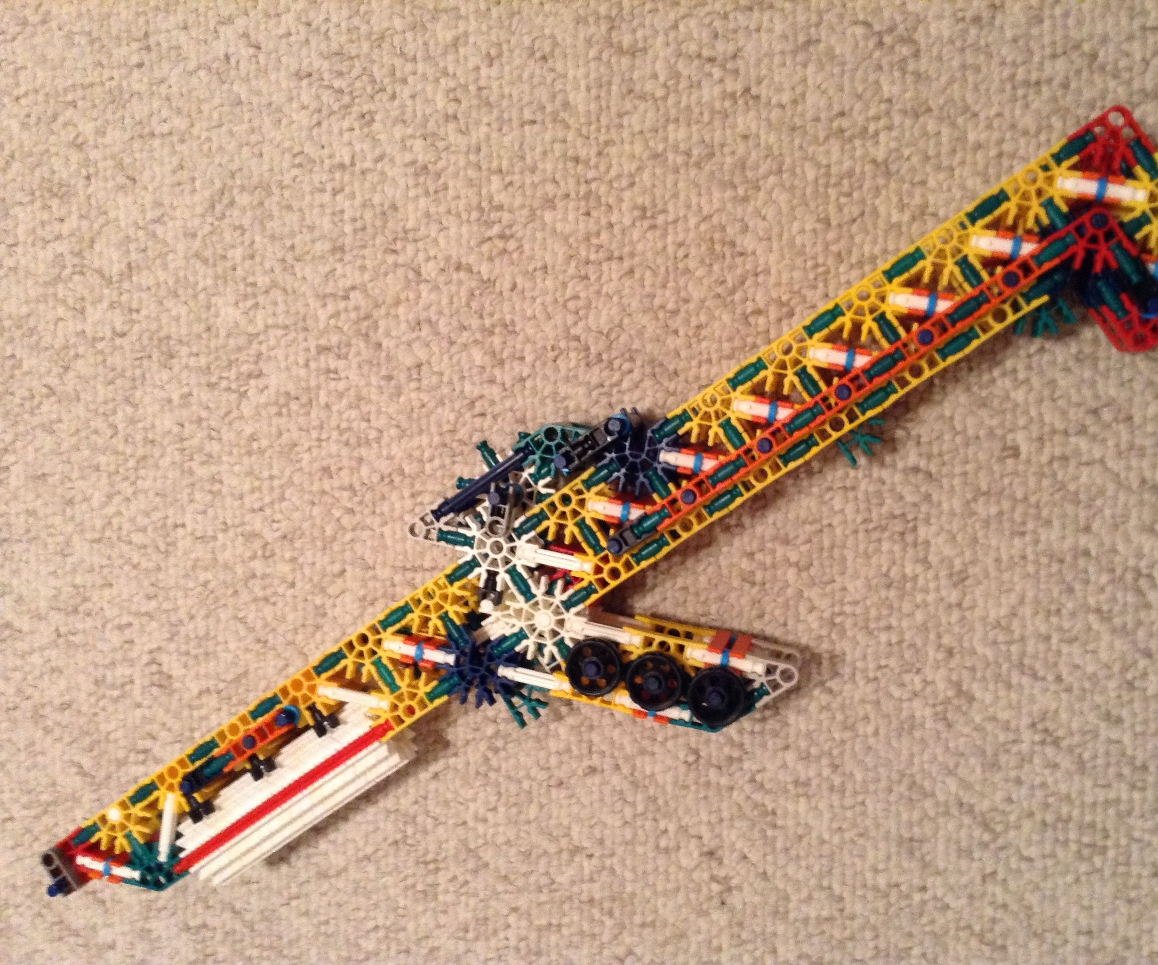 K'nex Rubber Band Gun