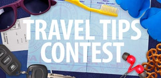 Travel Tips Contest