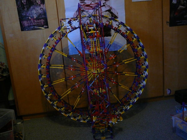 Large Knex Weel Lift With Holes