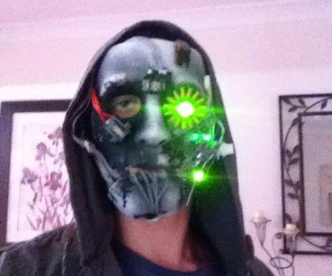 Make a Cyborg mask