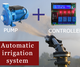 DIY | Irrigation Timing System