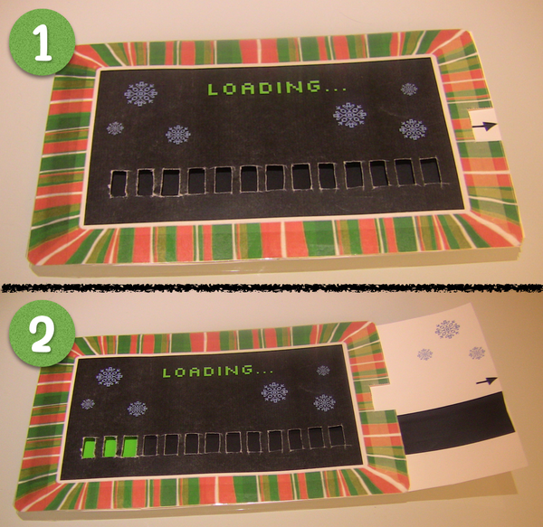 """Loading"" Christmas Card"