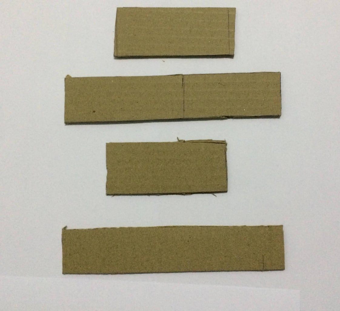 Mini Golf: Cut Out Pieces of Cardboard of the Measurements Given Below