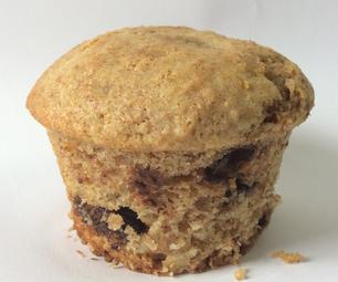 20 Minute, 4 Tools, 6 Muffin, Chocolate Chip Muffin Recipe