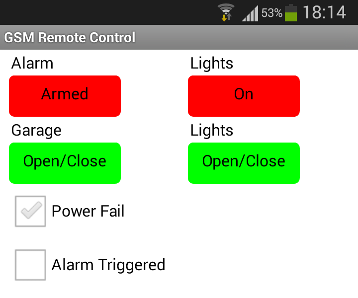 Android and Arduino SMS Based Home Automation