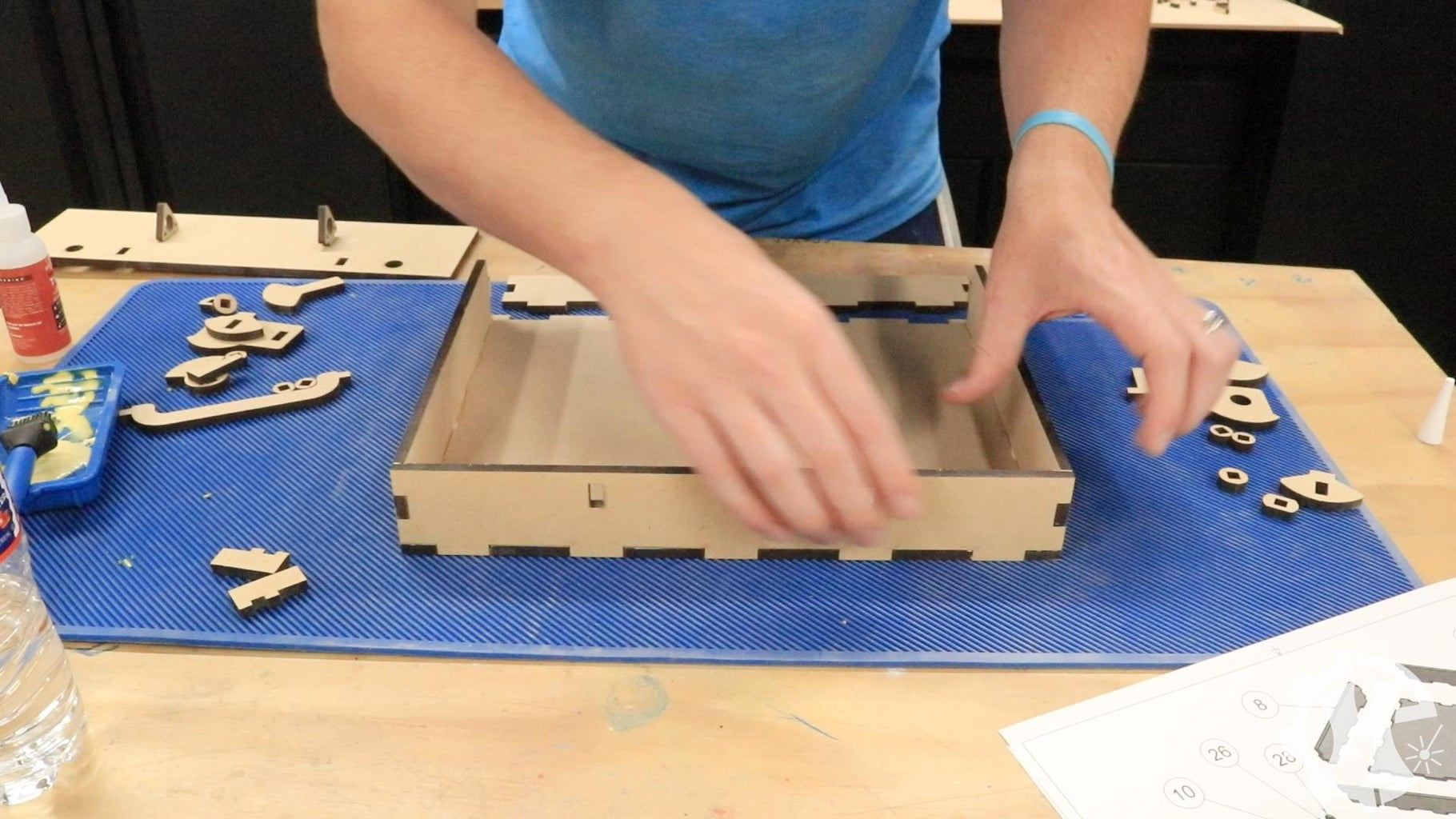 Assemble the Box - Drawer Assembly