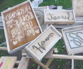 Easy DIY Concrete Decor / Art :: for Every Occasion in 5 Steps