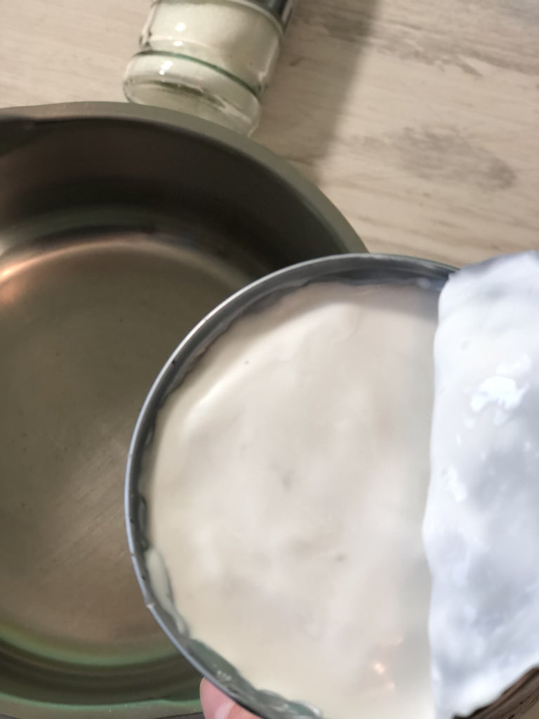 Making the Topping