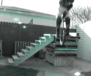 """UniGeezer: """"How to Make a Stair Set for Unicycle Trials!"""""""