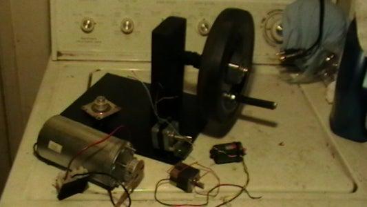Desk Top Hand Crank Mechanism for Micro- Generator