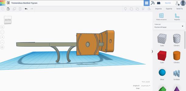 Gafas Para Ciegos Prototipo 3D (TINKERCAD)