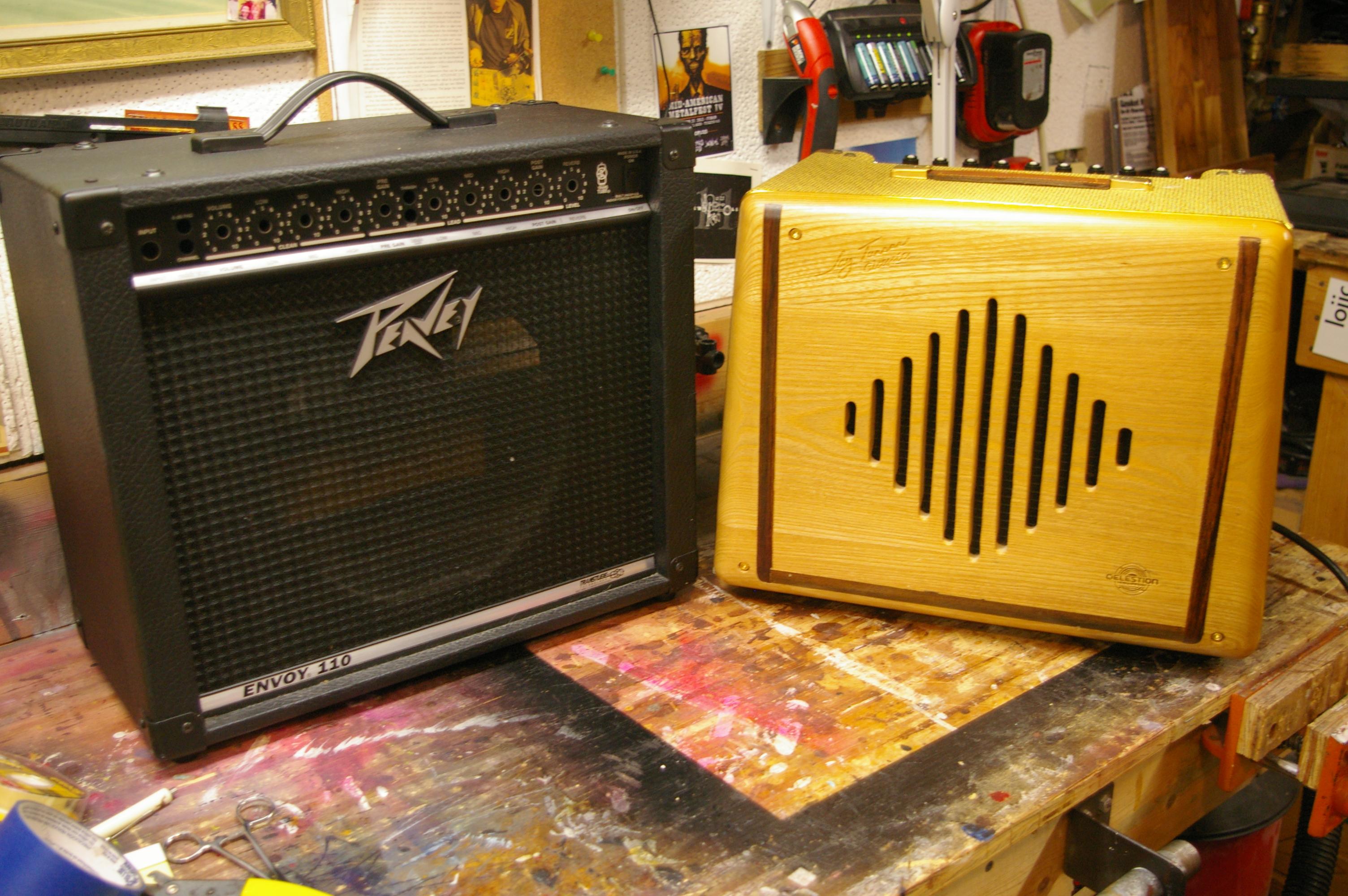 Combo Guitar Amplifier Cabinet Swap
