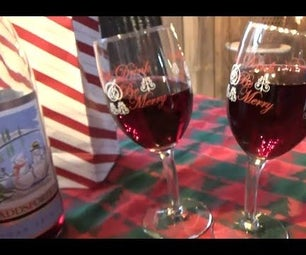 Make These Whimsical Wine Glasses