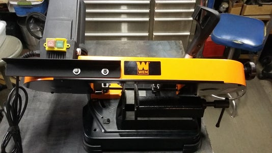 Enjoy the Saw in the Vertical Position!