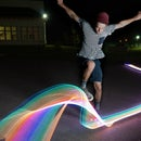 Light Graffiti Skateboard