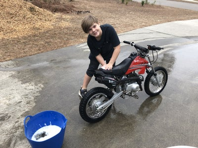 Wash the Dirt Bike THOROUGHLY!!!
