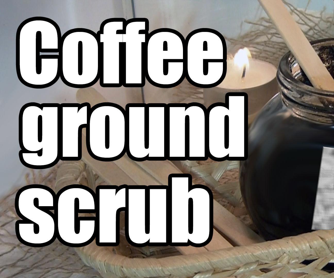 Coffee Ground Scrub