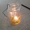 Mason Jar Oil Lamp