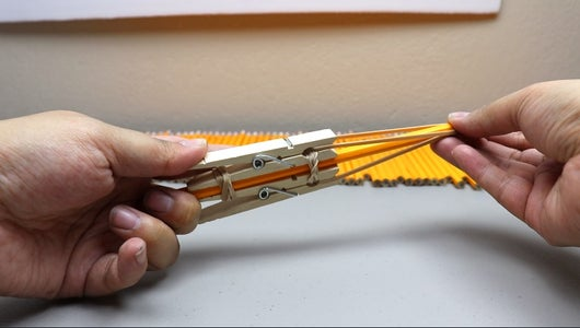 Double Rubber Band Shooter