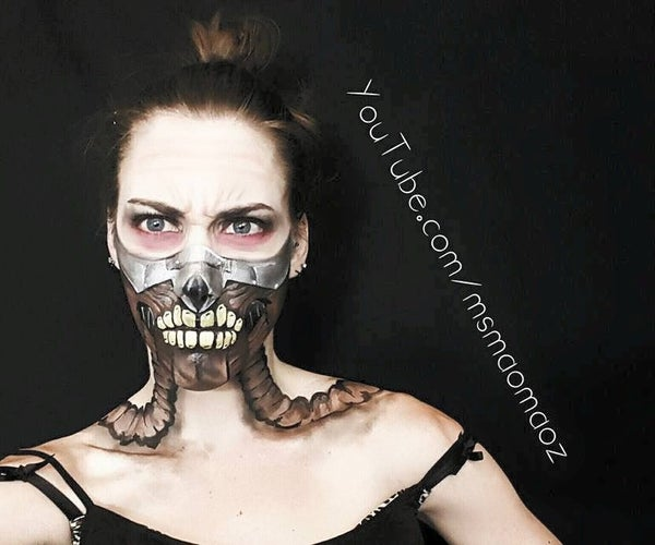 Immortan Joe Makeup Transformation
