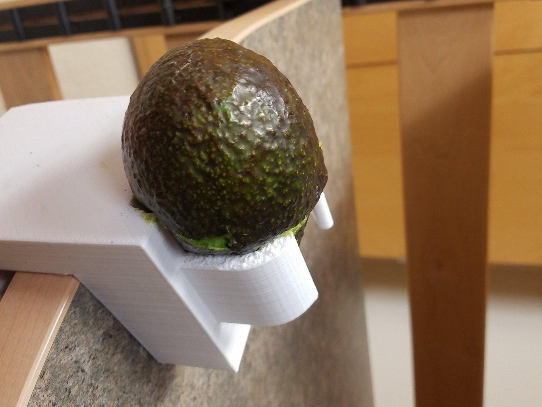 Placing Avocado