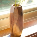 Geometric Faced Vases