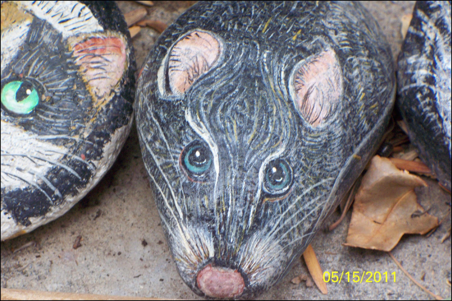 How to Paint Animals on Rocks