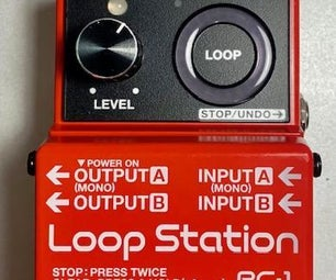 RC-1 Loop Station BOSS Modification - FADE and STOP Button