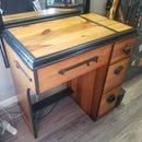 In-cabinet Sewing Machine Repurpose
