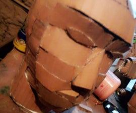 How to Make a Cardboard Maniquine Head