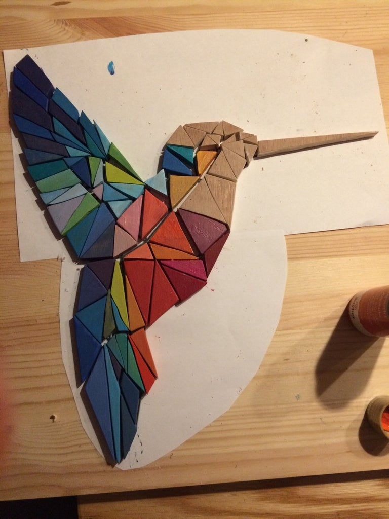 Painting and Glueing