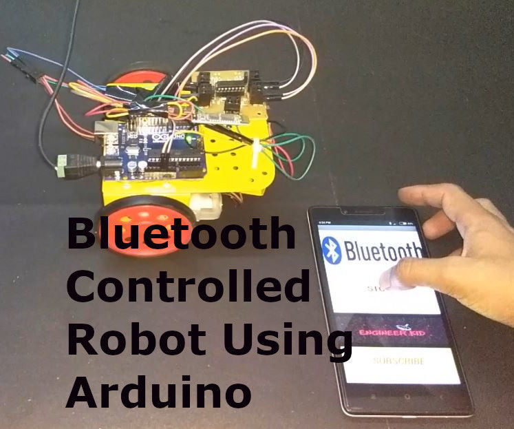 Diy Bluetooth Controlled Robot & Android App