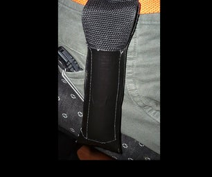 Flashlight Holster Cheap and Easy