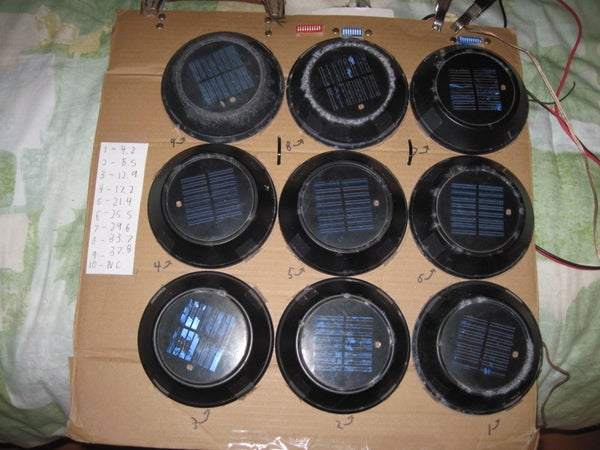 Recycled, Multi-voltage Solar Panel