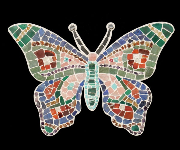 Lapidary Butterfly