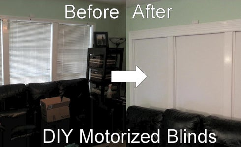 How to Install Rollertrol Blinds With Ikea Shades and Setup With Home Automation Systems