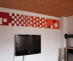 Making Your Own M.C. Escher Style Wall-painting