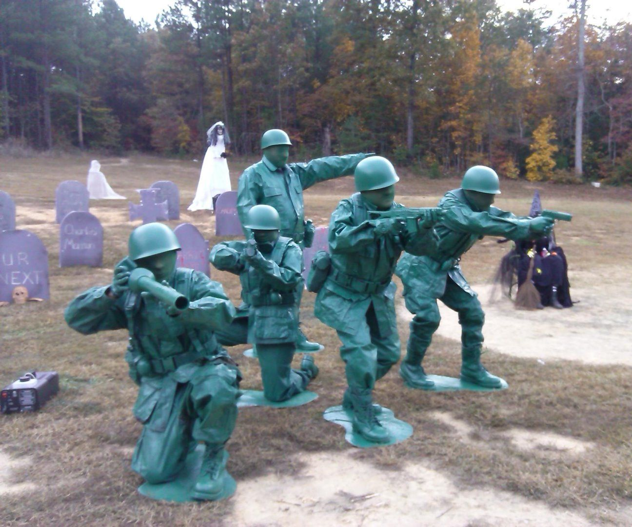 Group Toy Soldier Costumes