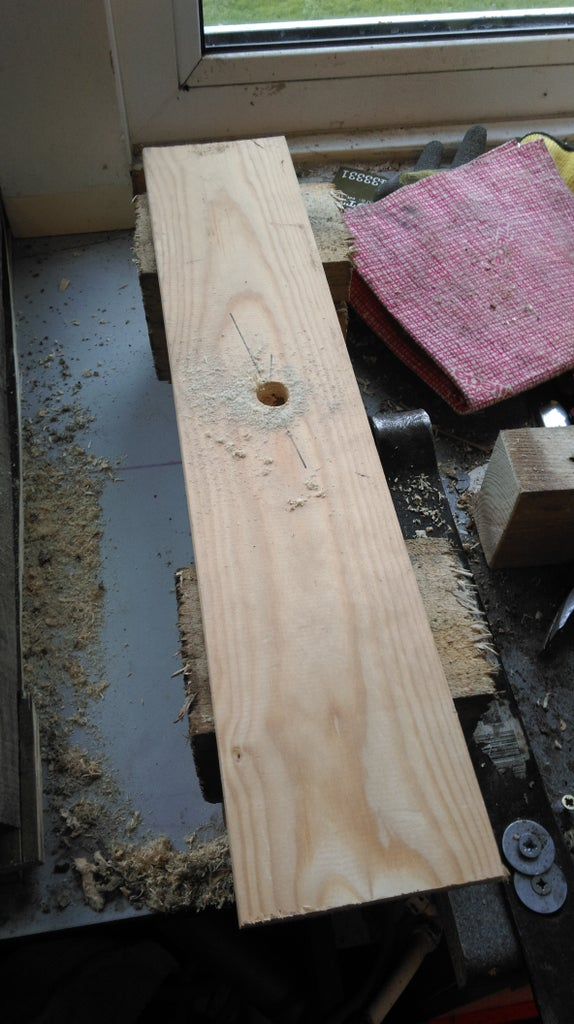 Making the Holes in the Branches