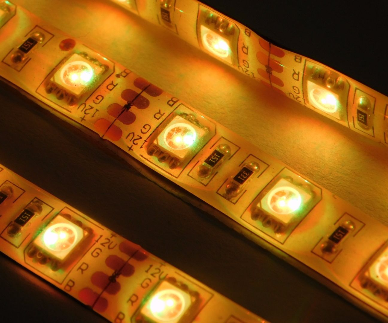 Music Reactive Multicolor LED Lights