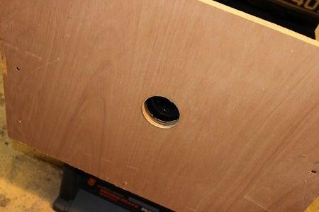 Rear Hole in Cabinet